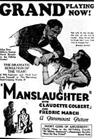 Claudette Colbert and Fredric March in Manslaughter (1930)