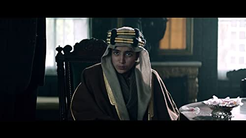 An extraordinary real life story set in 1919 , Born a King is a coming-of-age story about Faisal, a 14 year old teenage Arab prince who is dispatched from the deserts of Arabia to London by his warrior father, Prince Abd Al-Aziz, on a high stakes diplomatic mission to secure the formation of his country. In London he must negotiate with some of the pre-eminent figures of the age, including Lord Curzon and Winston Churchill, while forming a friendship with Princess Mary who helps guide him through the corridors of power.