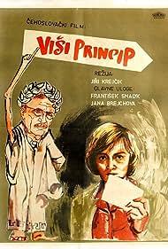 Jana Brejchová and Frantisek Smolík in Vyssí princip (1960)