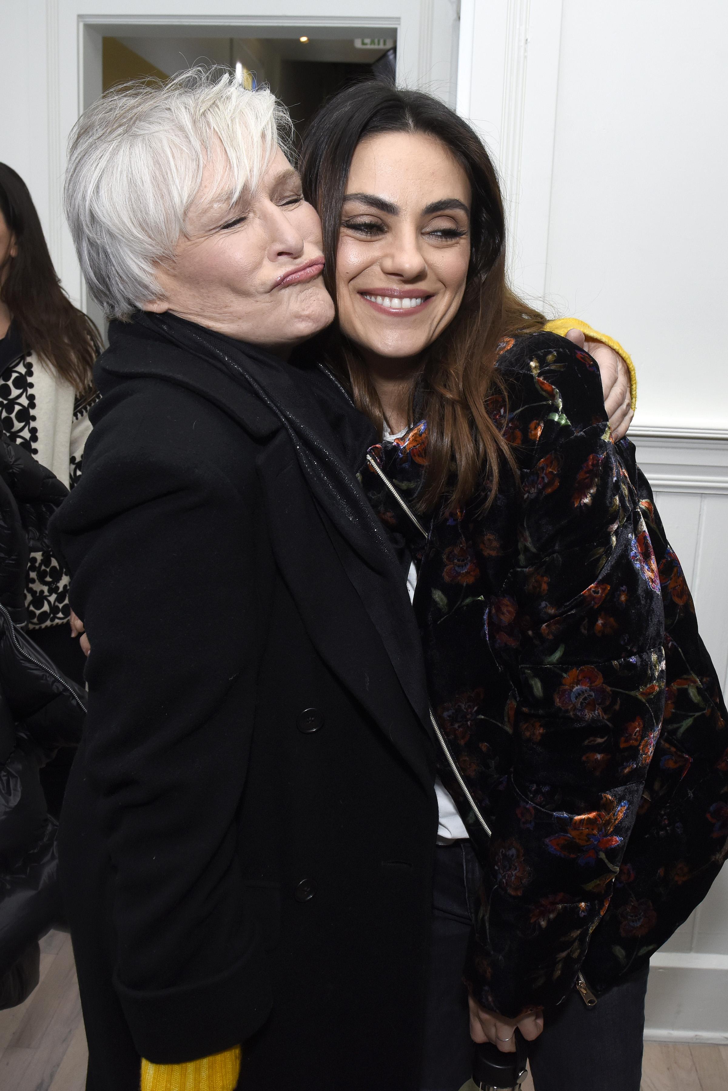 Glenn Close and Mila Kunis