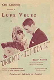 Barry Norton and Lupe Velez in Oriente es Occidente (1930)