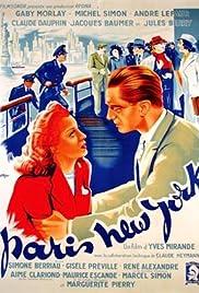 Paris New-York Poster