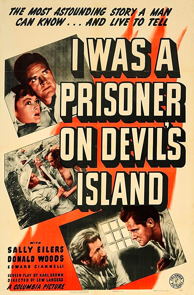 Eduardo Ciannelli, Sally Eilers, and Donald Woods in I Was a Prisoner on Devil's Island (1941)
