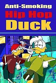Anti-Smoking Hip Hop Duck Poster