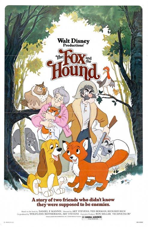 The Fox and the Hound (1981) BluRay 480p, 720p & 1080p