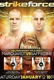 Strikeforce: Marquardt vs. Saffiedine Poster
