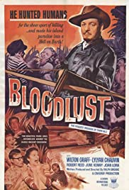 Bloodlust! (1961) Poster - Movie Forum, Cast, Reviews