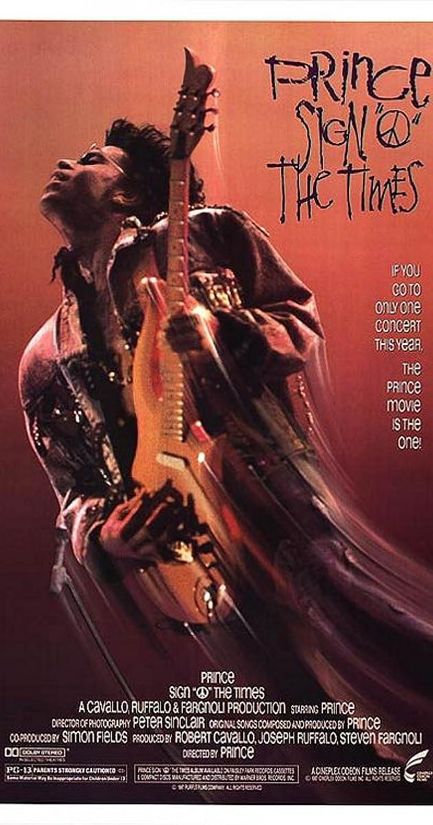 Sign 'o' the Times (1987) - IMDb