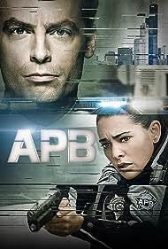 Justin Kirk and Natalie Martinez in APB (2016)