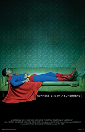 Where to stream Confessions of a Superhero