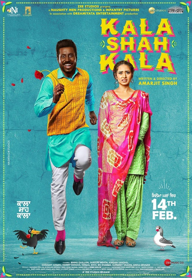 Kala Shah Kala (2019) Punjabi Movie 480p HDRip x264 ESubs 400MB