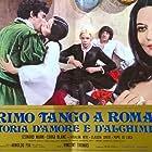Fortunato Cecilia, Leonard Mann, Isabelle Marchall, and Rosalba Neri in Primo tango a Roma... storia d'amore e d'alchimia (1973)