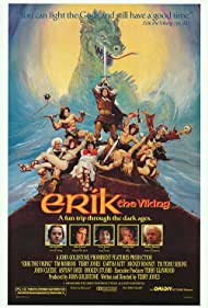 John Cleese, Tim Robbins, Terry Jones, Mickey Rooney, and Eartha Kitt in Erik the Viking (1989)