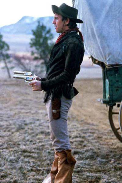 Kevin Costner in Silverado (1985)