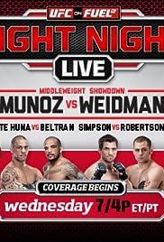 UFC on Fuel TV: Munoz vs. Weidman Poster