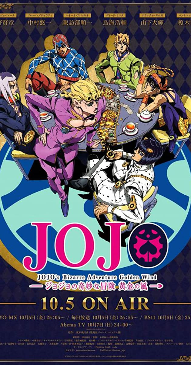 JoJo's Bizarre Adventure (TV Series 2012– ) - IMDb
