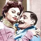 Sophia Loren and Totò in Miseria e nobiltà (1954)
