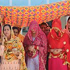 Parminder Gill, Gurpreet Bhangu, Sonam Bajwa, Drishtii Garewal, and Rakhi Hundal in Muklawa (2019)
