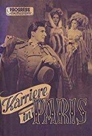 Karriere in Paris Poster
