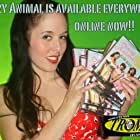 Promotional picture with the mother of John's children and star of Crazy Animal, Danica DeCosto.