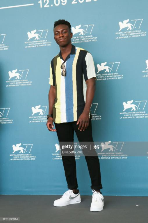 Olly at the photo call for RUN HIDE FIGHT during the International Venice Film Festival 2020