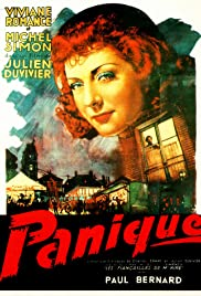 Panique Poster