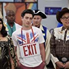 America Ferrera, Ben Feldman, and Nico Santos in Superstore (2015)
