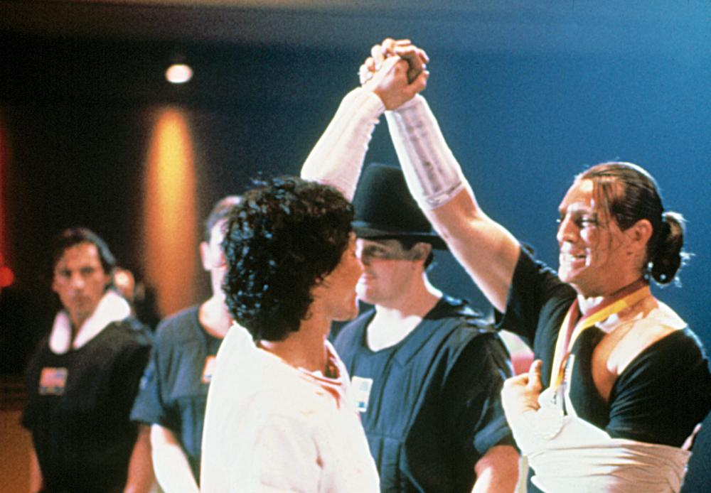Eric Roberts, Chris Penn, John Dye, David Agresta, and Phillip Rhee in Best of the Best (1989)