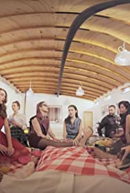 Eliana Albasetti, Fernanda Ramírez, Mariana Di Girólamo, Wendy Sulca, Daniela Geisse, Tutu Vidaurre, Daniela Chaigneau, and Ricardo Weibel in Harem (2018)