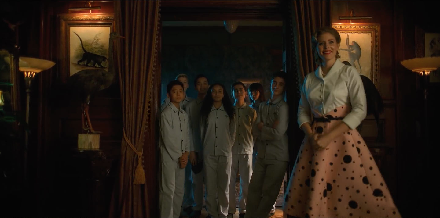 T.J. McGibbon, Cameron Brodeur, Eden Cupid, Ethan Hwang, Blake Talabis, and Jesse Noah Gruman in The Umbrella Academy (2019)