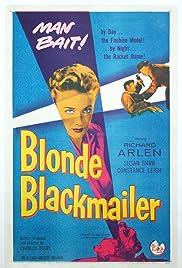 Blonde Blackmailer Poster