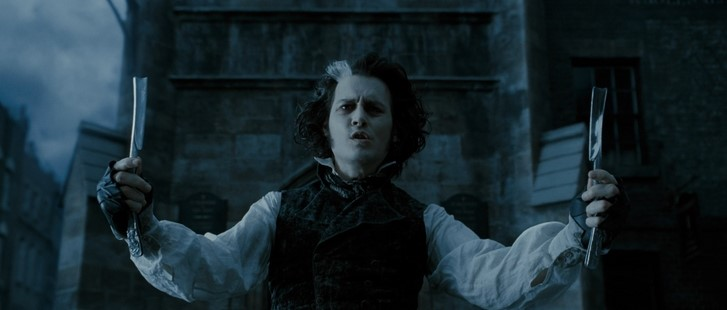 Johnny Depp in Sweeney Todd: The Demon Barber of Fleet Street (2007)
