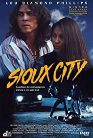Lou Diamond Phillips and Salli Richardson-Whitfield in Sioux City (1994)