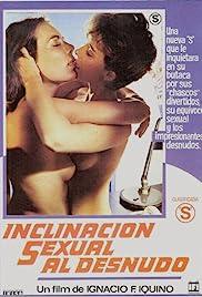 Inclinación sexual al desnudo Poster