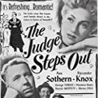 Florence Bates, Alexander Knox, Ann Sothern, and George Tobias in The Judge Steps Out (1948)