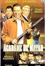 Julio Alemán, Tony Bravo, Carlos Cardán, Alejandro Ciangherotti, Gilberto de Anda, Jackie Torres, and Mario Ramirez Reyes in Acábame de matar (1998)