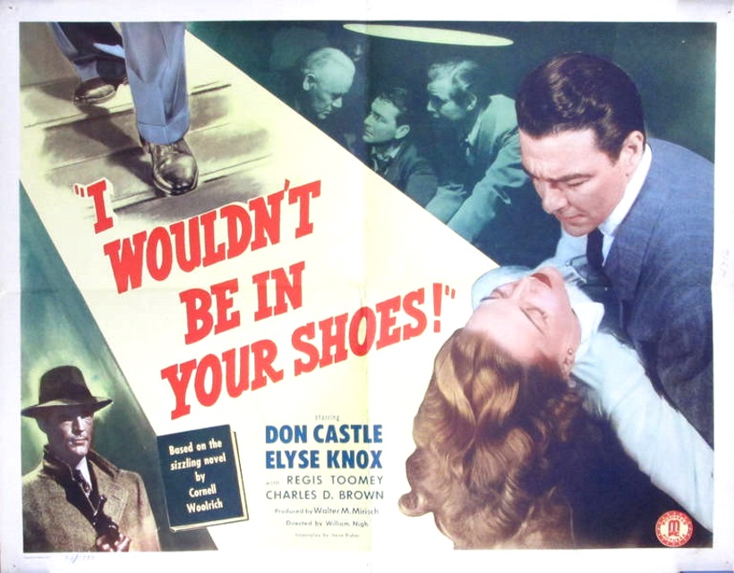 Charles D. Brown, Don Castle, Elyse Knox, Rory Mallinson, and Regis Toomey in I Wouldn't Be in Your Shoes (1948)