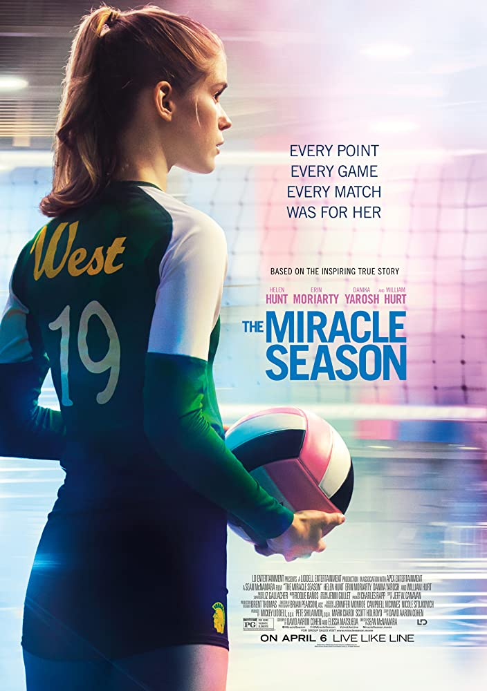 Erin Moriarty in The Miracle Season (2018)