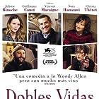 Juliette Binoche, Guillaume Canet, Vincent Macaigne, Christa Théret, and Nora Hamzawi in Doubles vies (2018)