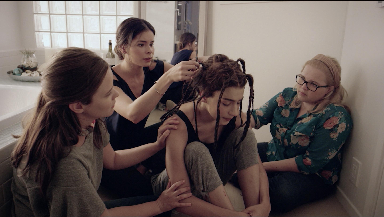 Leah Henoch and Melissa Cordero in Bare (2017)