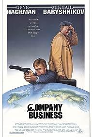 Gene Hackman and Mikhail Baryshnikov in Company Business (1991)