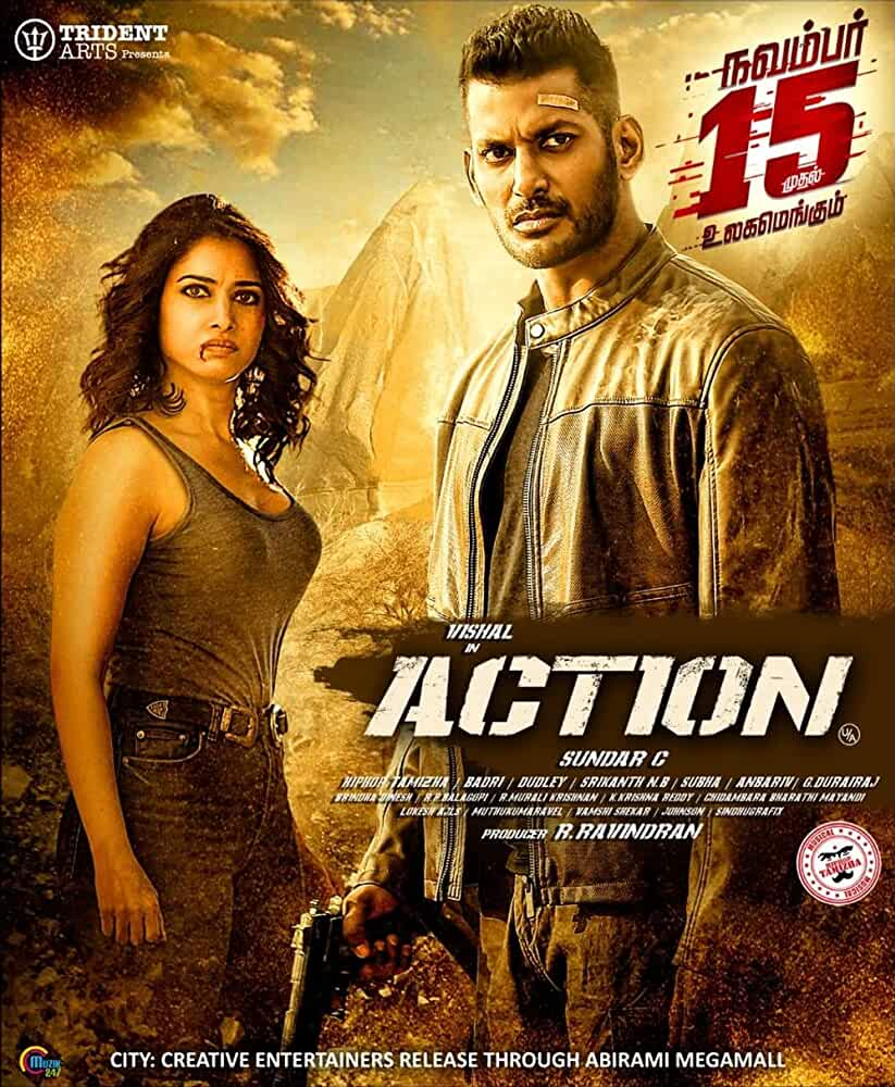 Action 2019 Hindi Dual Audio 720p HDRip 1.6GB