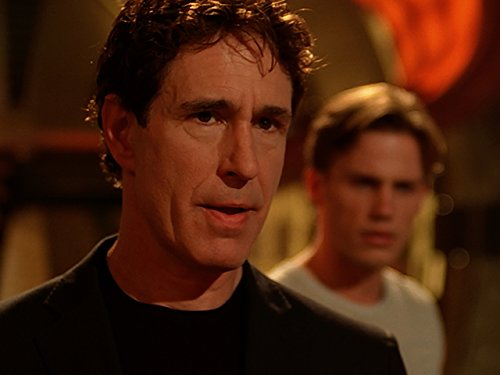 Forbes March and John Shea in Mutant X (2001)