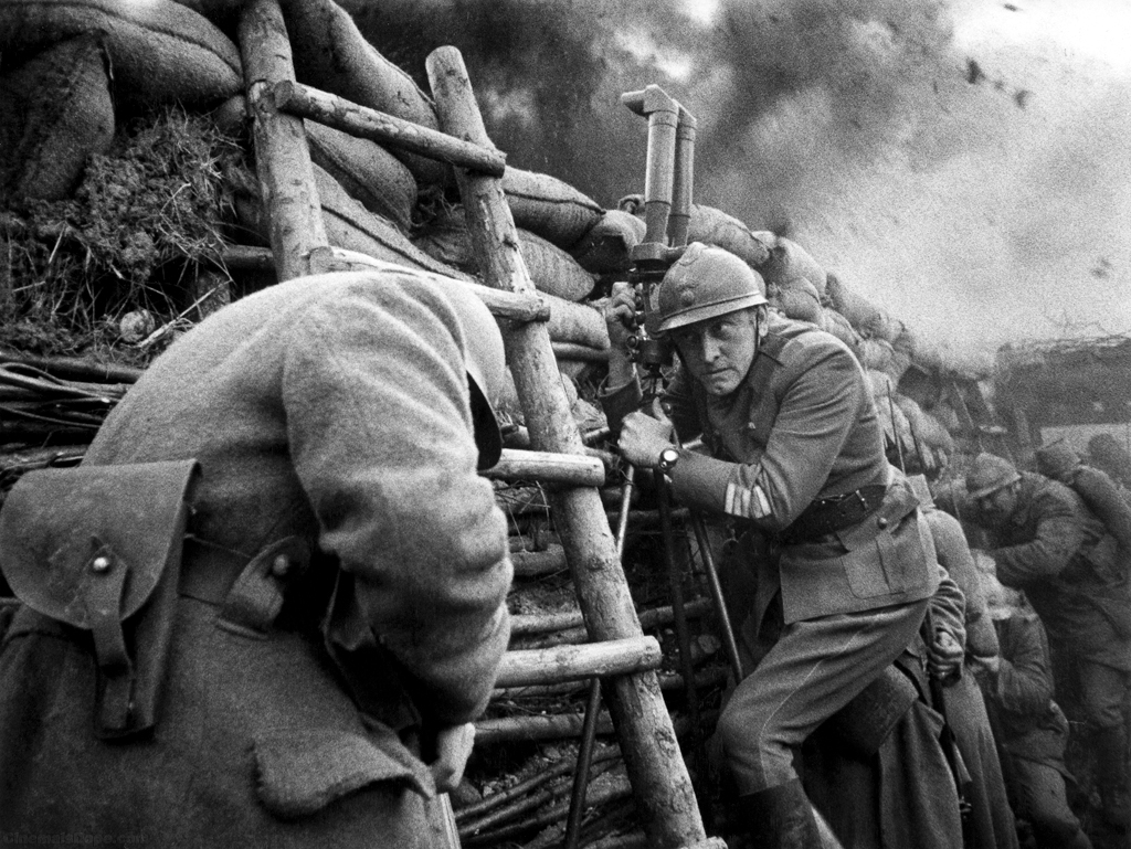 Kirk Douglas in Paths of Glory (1957)