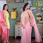Nithya Menen and Samantha Ruth Prabhu in S/O Satyamurthy (2015)