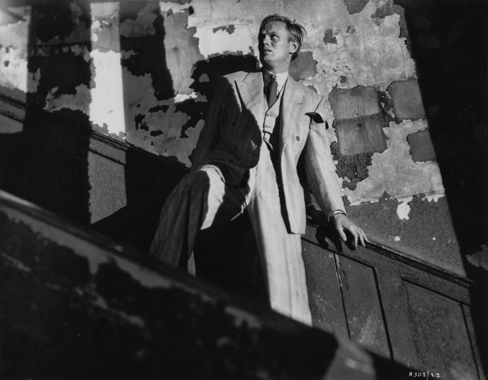 Richard Widmark in Night and the City (1950)