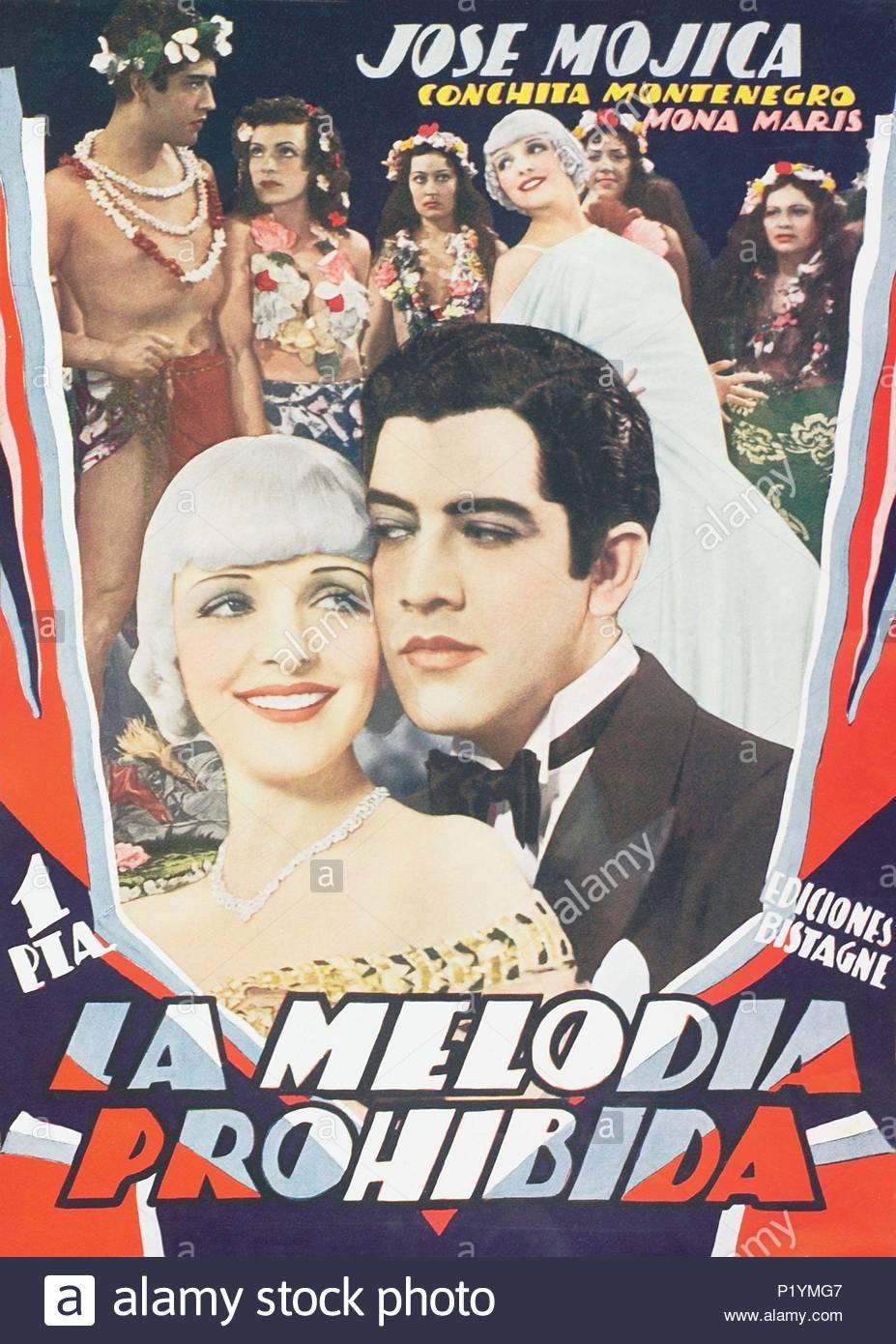 Mona Maris, José Mojica, Conchita Montenegro, and Carmen Rodríguez in Melodía prohibida (1933)