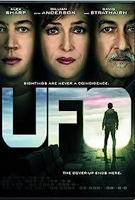 Gillian Anderson, David Strathairn, and Alex Sharp in UFO (2018)