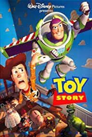 Tom Hanks, Tim Allen, Annie Potts, John Ratzenberger, Wallace Shawn, Jim Varney, and Don Rickles in Toy Story (1995)