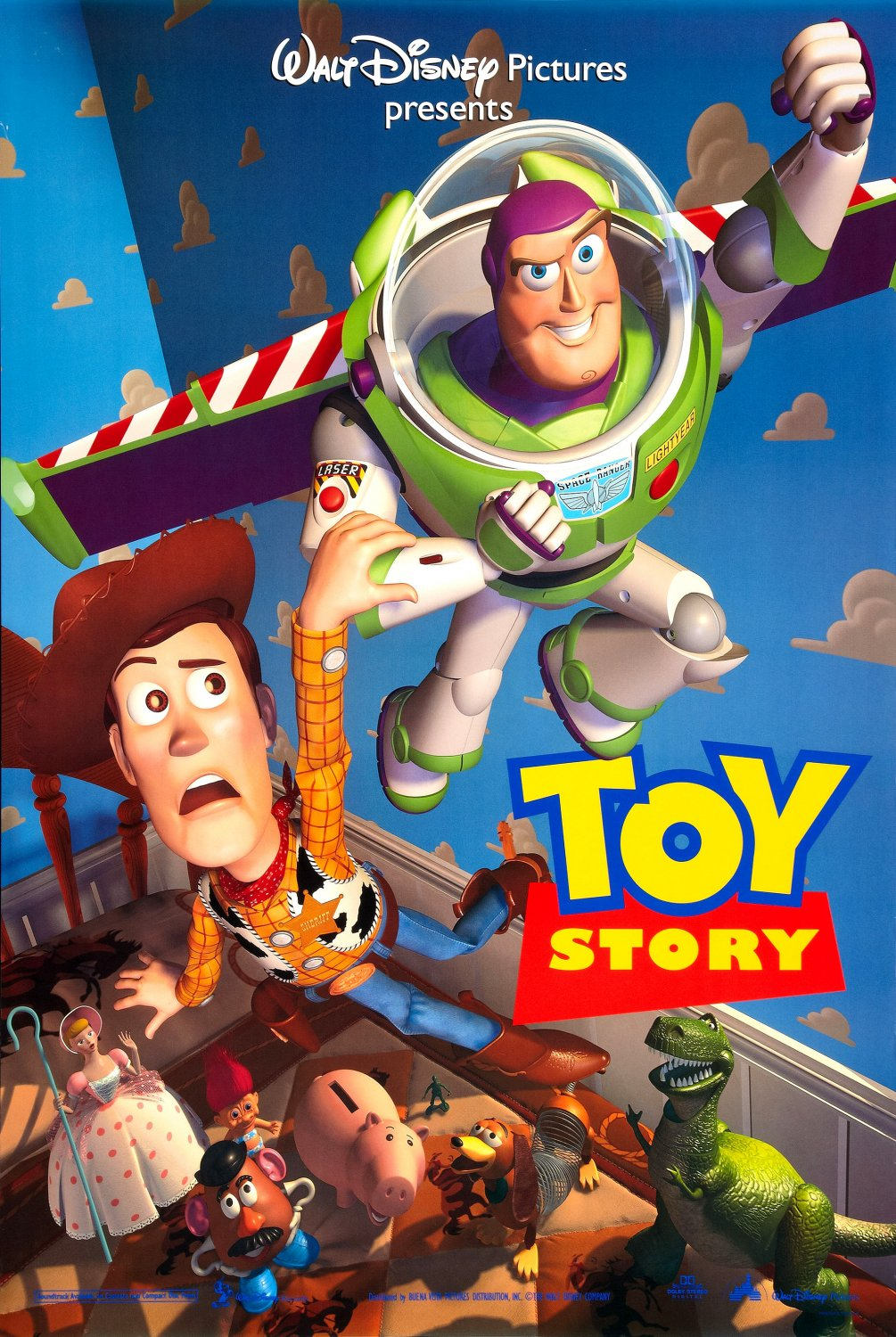 Toy Story (1995) BluRay 480p, 720p & 1080p